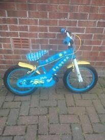 Childs Minions Bicycle / Bike