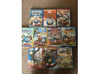 10 Thomas dvds all in good condition
