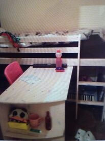 Cabin bed . Can deliver local