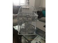 Birdcage used for Wedding Cards - used once, in great condition