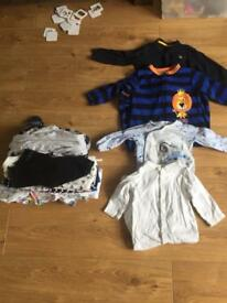Boys baby grows size 12-18 months