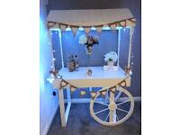 Candy Cart Hire, 5ft LOVE letters,Wishing well. Weddings, Baby Shower,Parties etc