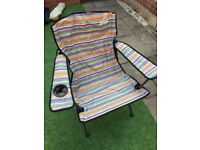 Folding / Camping Chair - As new - Outwell Rosario