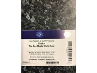 Drake The Boys Meets World Tour London, 30th January and 1st Feb