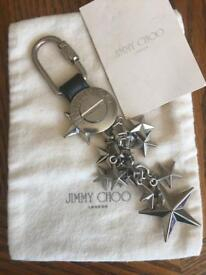 Authentic JIMMY CHOO keyring or bag tassel