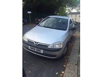 Vauxhall Corsa 1.2L petrol silver colour excellent condition