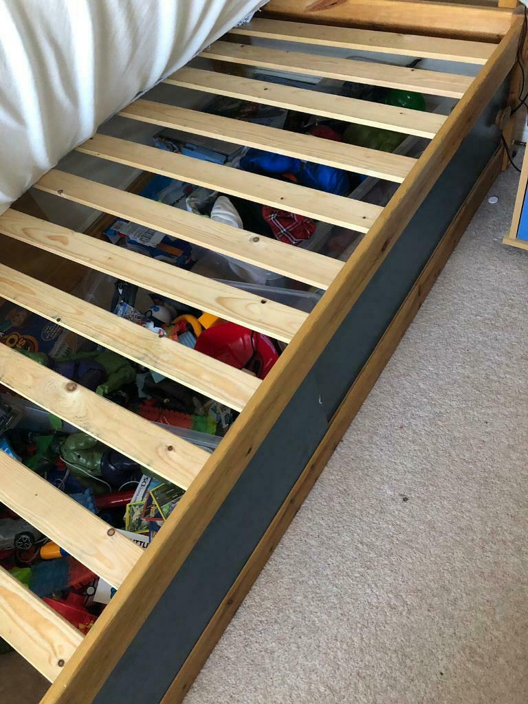 Single Bed With Sliding Drawers In St Austell Cornwall
