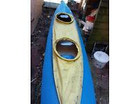 Vintage Tyne 2 man kayak