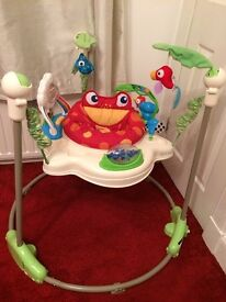 Baby jumperoo toy