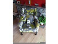 Vintage armchair fully refurbished