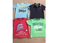 Boys tshirt bundle age 3-4 inc football