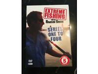 Extreme fishing with Robson Green Series 1-4 LIKE NEW