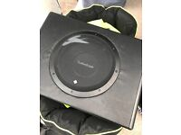 Rockford fosgate 10 inch sub and amp great working condition