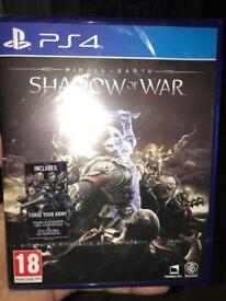 New PS4 game MIDDLE EARTH SHADOW OF WAR