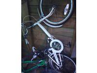 Vintage Raleigh Foldable Shopper Bike (needs work)