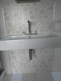 Duravit sink with Hansgrohe tap