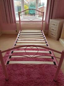 Pink Serene Yasmin Bedstead