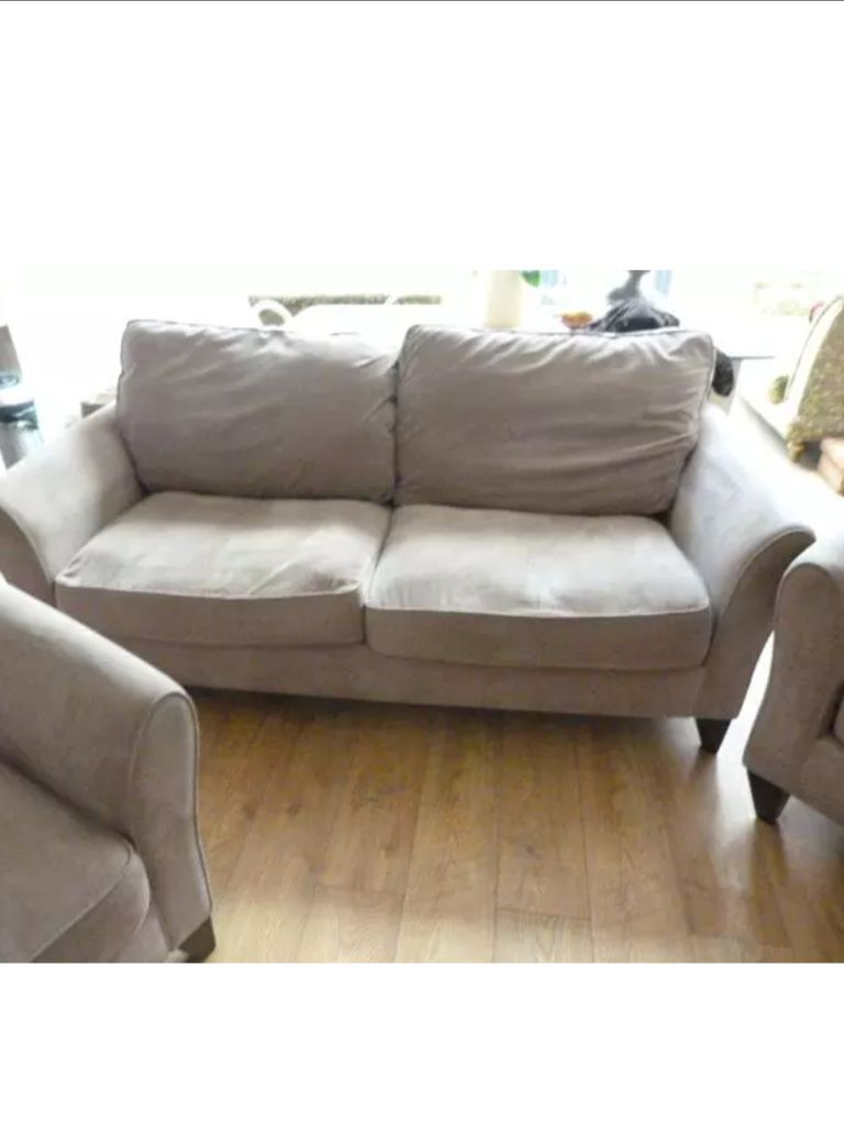 Debanhams Fyfield In Taupe Very Light Brown Sofa And 2