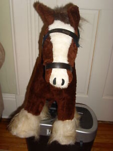Budweiser Lil Scot Clydesdale
