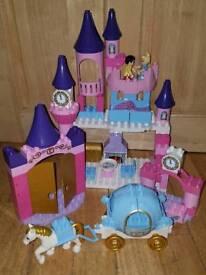 Lego Duplo Cinderella Castle set with Carriage