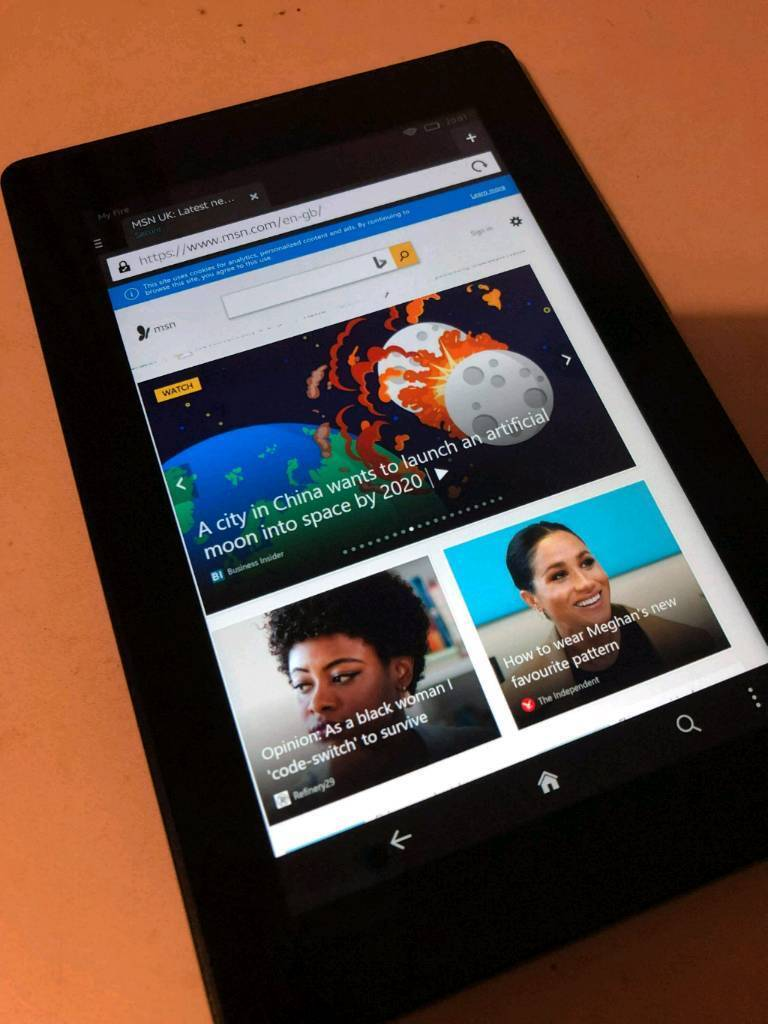 AMAZON KINDLE FIRE HD ANDROID TABLET 7