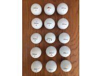 Titleist ProV1 Golf Balls (15) - Excellent Condition