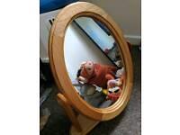 Wooden Dresser Mirror