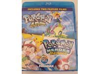 Pokemon: 4 Ever & Pokemon: Heroes the movie (Blu Ray)