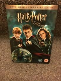 Harry Potter & The Order if the Phoenix Special Edition DVD's
