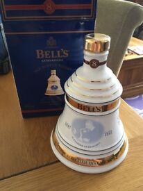 Bell's Christmas Decanter