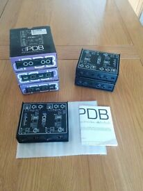 Art Dual Passive Direct Box (Art DPDB) x 4 Boxed Like New Excellent Condition! (£25 EACH, £75 ALL)