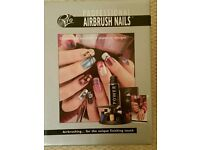 Nail art airbrush set