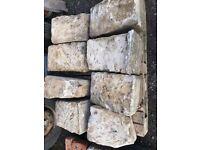Reclaimed Sandstone quoins