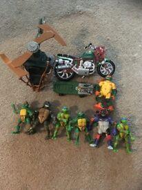 Teenage Mutant Ninja Turtles Toy Bundle