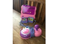 Vtech V.Smile TV Learning system with joy stick and 2 games