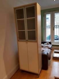 Ikea glass-door cabinet