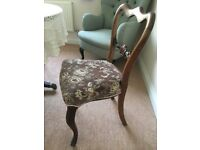 Table and chairs and other items from House Clearance