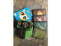 Minecraft books and game