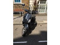 VESPA 50S BLACK, PRACTICAL, FUN, RELIABLE