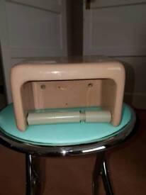 Retro Toilet Roll Holder