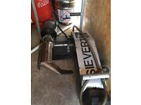 Sievert hot air welding machine