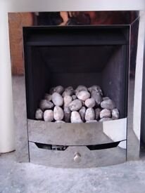 LEGEND GAS FIRE POWER FLU. NO NEED FOR A CHIMNEY FITS ON OUTSIDE