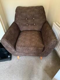 Retro 3 Pice Sofa