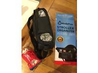 Buggy organiser bag, new, smoke and pet free house