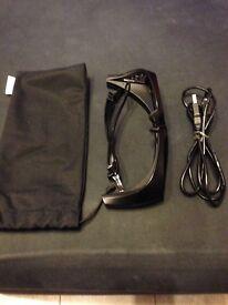Sony 3D active glasses adult size Black