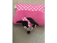 Minnie Mouse pillow pet , cushion And throw