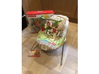 Fisherprice Bouncer baby chair/seat