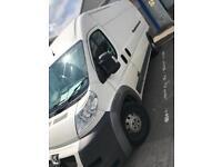 Peugeot Boxer XL long wheel base van & new engine