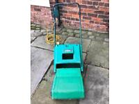 Electric qualcast mover
