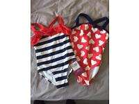 2 swimsuits - age 2 years